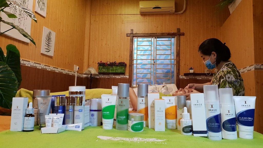 bộ mỹ phẩm Image Skincare