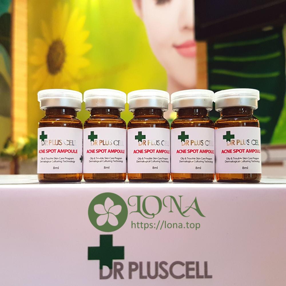 Tế bào gốc Dr PlusCell nuôi dưỡng từng tế bào da khỏe mạnh, giúp phục hồi vùng da mụn bị tổn thương