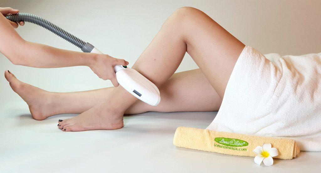 Liệu trình triệt lông chân tại Cần Thơ