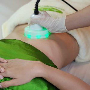 Spa massage giảm mỡ bụng